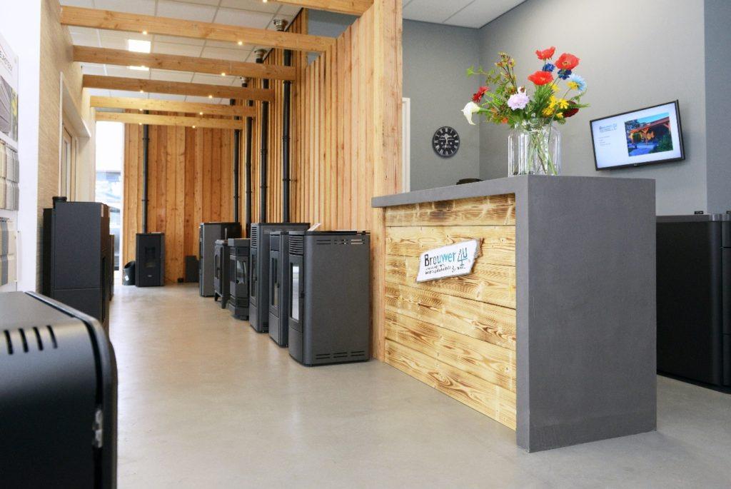 Kunststofkozijn4U Kunststof kozijnen - showroom en balie Steenwijk