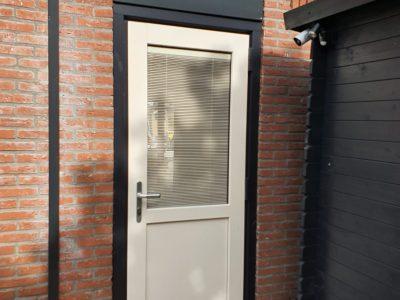 Kunststofkozijn4U Kunststof kozijnen - kunststof achterdeur in Wolvega