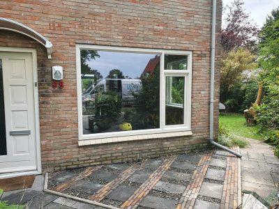 Houtlook kozijnen steenwijk Voorraam - Kunststofkozijn4U Steenwijk - kunststof kozijnen