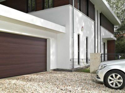 Garagedeur Steenwijk sectionaaldeur - Kunststofkozijn4U Steenwijk