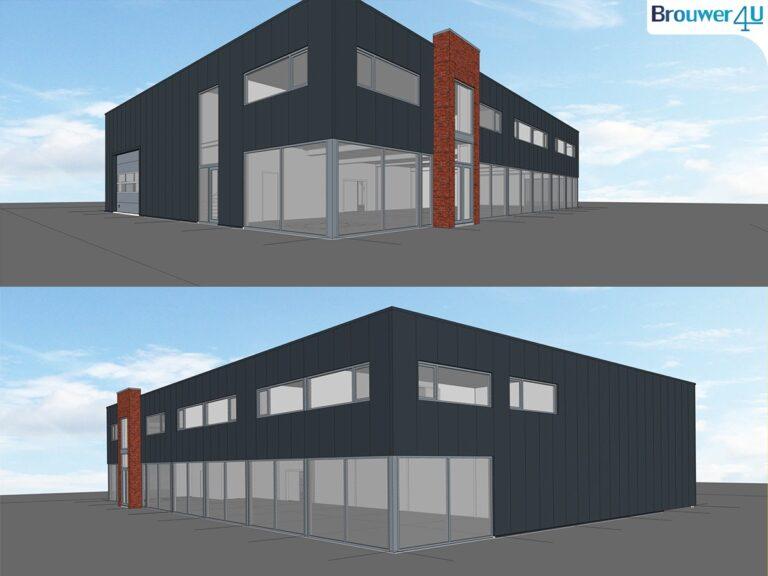 Kunststofkozijn4U kunststof kozijnen - Forse uitbreiding Brouwer4U - nieuwe showroom